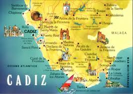 Map Of Spain Cadiz.Cadiz Andalucia Tourism In Spain For Your Holidays